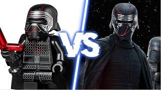 LEGO STAR WARS IX vs ACTEURS