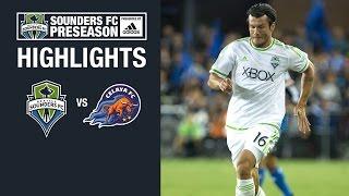 Highlights: Seattle Sounders FC vs Celaya FC   2016 Preseason