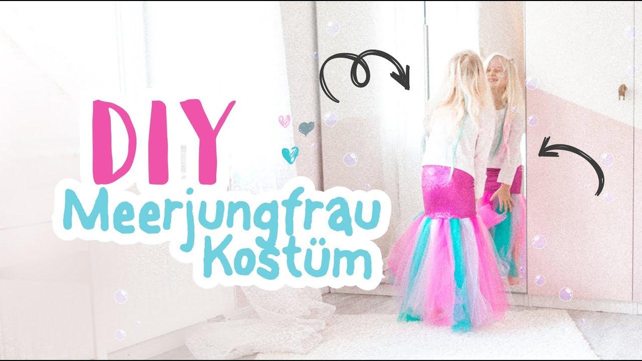 diy meerjungfrau kost m n hen mermaid costume kids delari youtube. Black Bedroom Furniture Sets. Home Design Ideas
