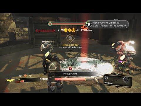 Warhammer Space Marine - Weapon Challenges |