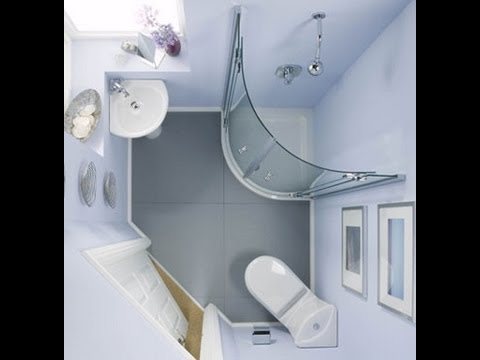 Tips For Small Bathroom Design Youtube - Small-bathroom-design