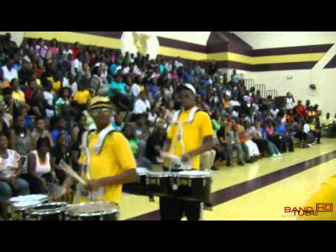 CEM Band Battle: Manning High School Marching In 2011