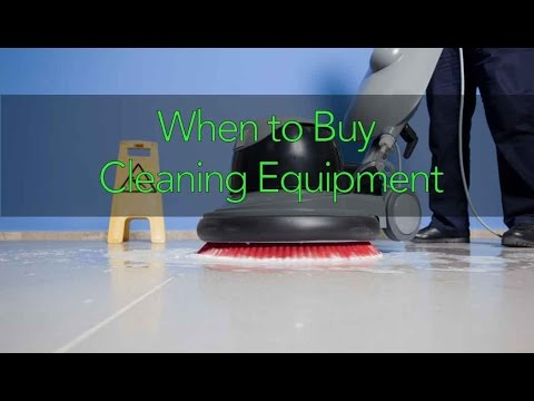 When To Buy Cleaning Equipment Featuring Jeff Davis