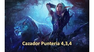 Guia todo incluido Cazador Punteria 4.3.4
