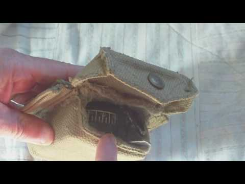 INFORMATION FOR YOUTUBER ANDREW ROBINSON,RE WORLD WAR TWO BRITISH ARMY COMPASS POUCH