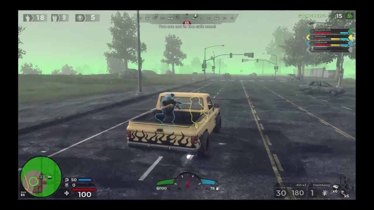 H1Z1 battle royale-My first win
