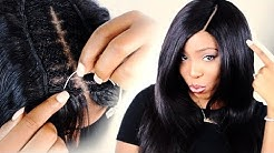 How To: INVISIBLE PART SEW IN For Beginners Step By Step!