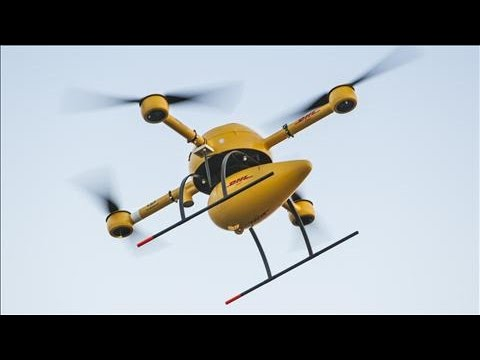 DHL to Deliver Medicine via Drone