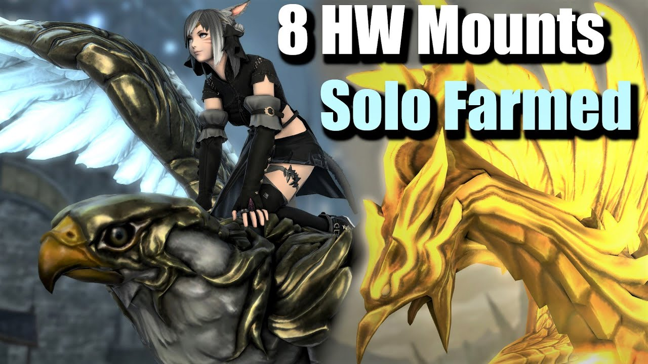 8 More Mounts and Weapons | Solo Farmed in some Hours