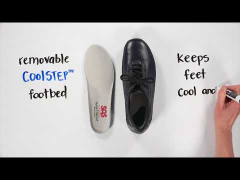 Video for Traveler Active Lace Up Shoe this will open in a new window