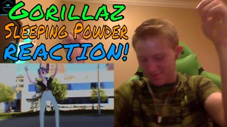 Gorillaz - Sleeping Powder REACTION!