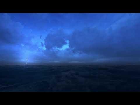 sonido-de-tormenta-en-el-ocÉano-cielo☔-lluvia-olas-y-viento