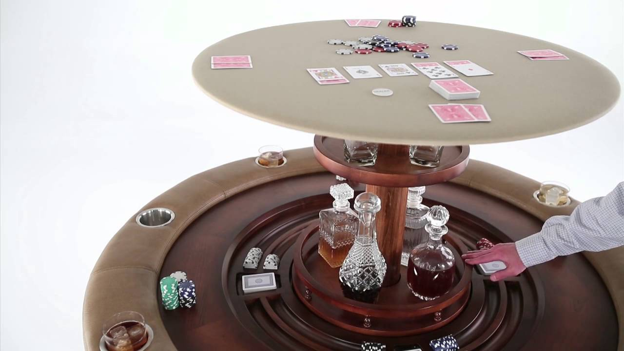 Discontinued Nexus 21 Speakeasy Poker Table With Hidden