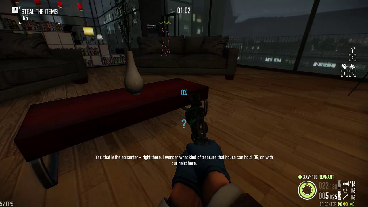 Payday 2 - Framing Frame - Day 3 - Gage Spec Ops Mic sidejob - 5 ...