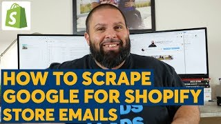 How To Scrape For Shopify Store Emails With ScrapeBox
