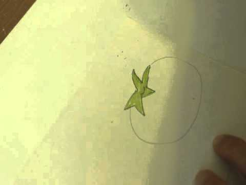 Как нарисовать помидор карандашом поэтапно для детей