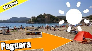 Paguera Mallorca Spain: Tour of beach and resort