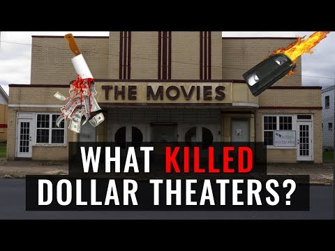 What KILLED The Dollar Theater? - The Future Of Going To The Movies
