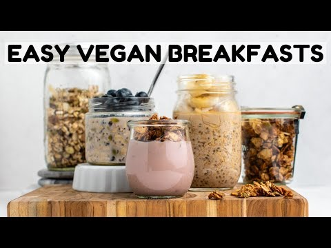 Easy Vegan Breakfast Ideas (Dorm Room Friendly!)