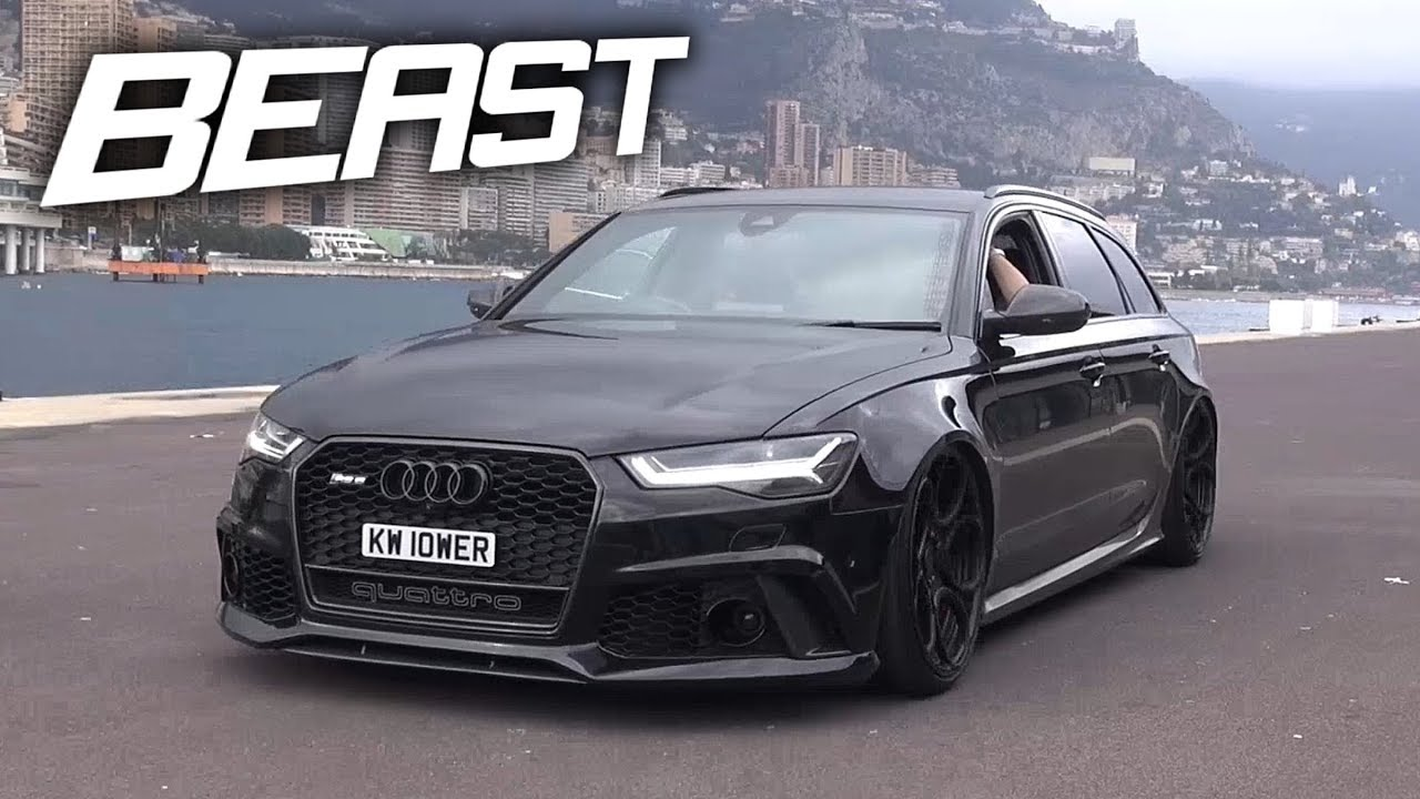 BEST Sounding Wagon EVER! - Audi RS6 C7 Avant Exhaust Sounds ...