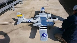 N次さんのA-26インベーダー初飛行