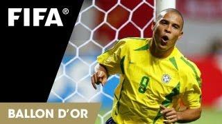 Ronaldo on the FIFA Ballon d'Or (Portuguese version)