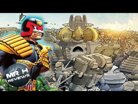 Mega-city one Judge Dredd's City - Explained