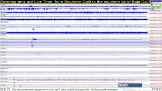 Southern California Earthquake Monitor, Live Stream