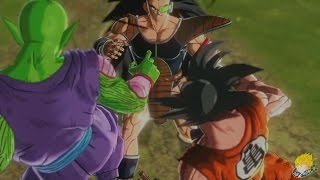 Dragon Ball Xenoverse (PS4): Goku, Piccolo & DBZanto Vs Raditz (Saiyan Saga) (Part 5)【60FPS 1080P】