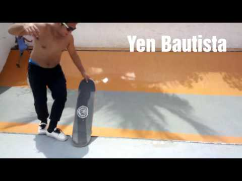 YEN BAUTISTA Skateboarding in Vitas Park Tondo,Manila 100916 Sunday
