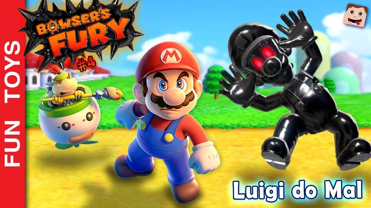 🔥 BOWSER's FURY - LUIGI DO MAL aparece de novo para perturbar o Mario neste jogo INCRÍVEL! #04 PT-BR