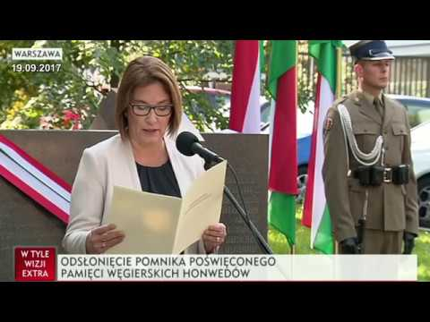 Poland honors the Hungarian Army for help in the Warsaw Uprising * Hungarian Corridor to Warsaw
