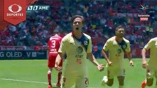 Gol de Córdova | Toluca 1 - 2 América | Clausura 2019 - Jornada 15 | Televisa Deportes