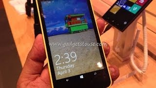 Nokia Lumia 630 Hands on Review, Features, Dual Sim Options and Windows 8.1 Overview HD