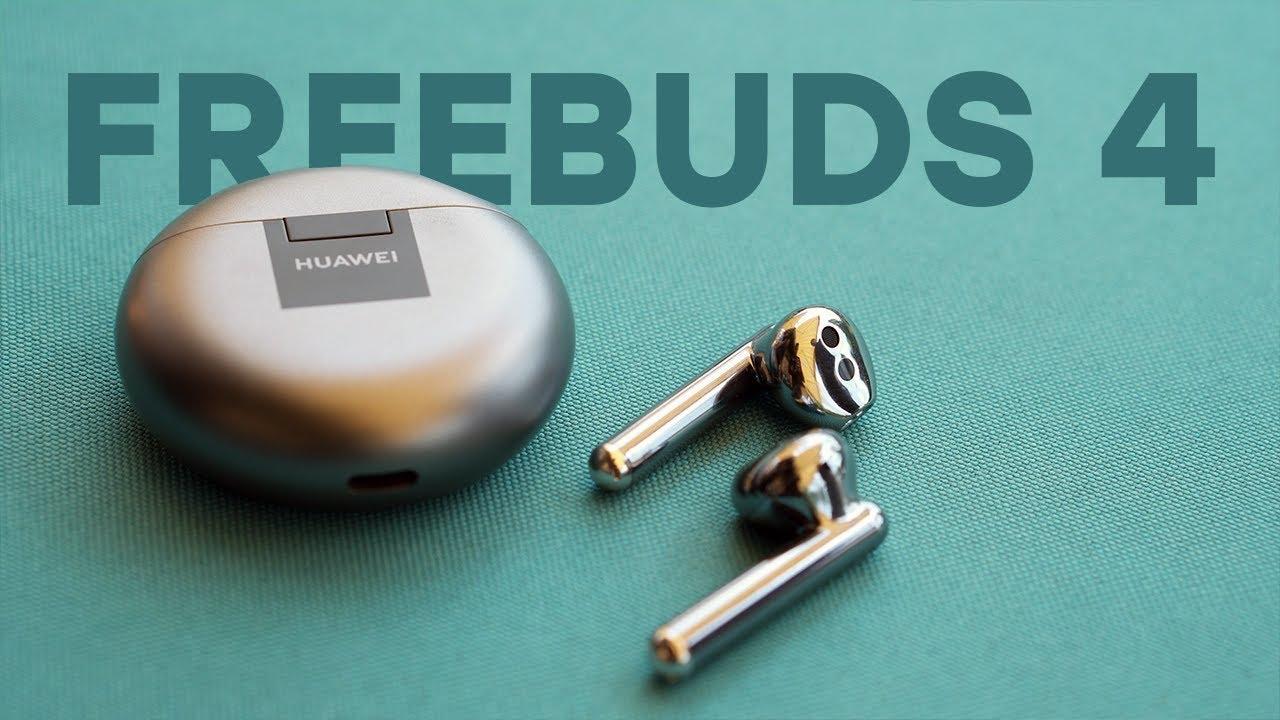 Обзор Huawei Freebuds 4 | Достойные наушники со внушительными показателями.