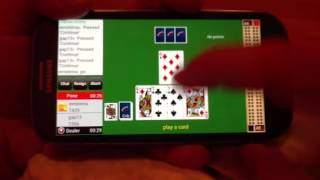 Play 'GC Cribbage' with real players on Android & Cribbage Live on iPhone, iPad(This video shows how simple it is, to play 'GC Cribbage' for android and 'Cribbage Live' for iPhone/iPad - a mobile game with real players. Hundreds of ..., 2013-04-11T20:02:33.000Z)