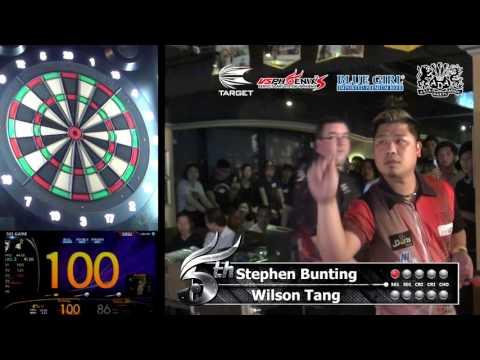 """Stephen Bunting"" & ""Wilson Tang"" Phoenix HK Darts Exhibition"