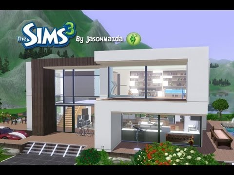 the-sims-3-house-designs---modern-villa