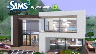 The Sims 3 House Designs - Modern Villa