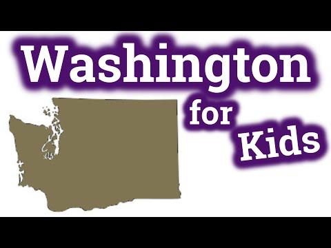 Washington For Kids | US States Learning Video