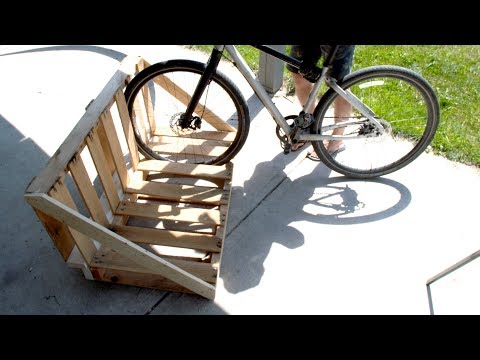Build a Pallet Bike Rack