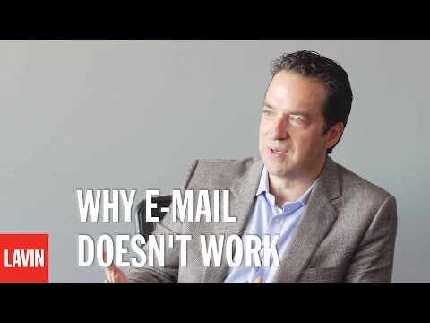 Adam Bryant: Why E-Mail Doesn't Work