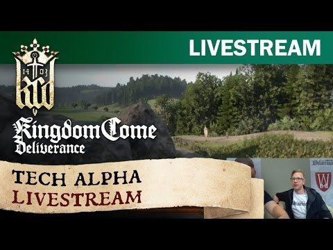 Warhorse Studios Tech Alpha Live Stream
