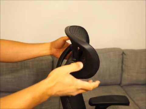 Staples Hyken Technical Mesh Task Chair  Headrest Video