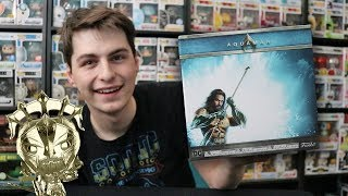 Aquaman Deluxe Collectors Box Unboxing | Gold Funko Pop Inside!