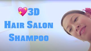 ASMR *3D* Hair Salon ~ Shampoo ~ Haircut ~ Blowdry ~ Curling ~ Styling