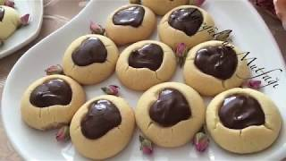 Çikolata Kalpli Kurabiye Tarifi