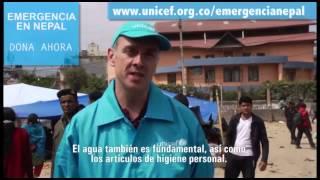 UNICEF EMERGENCIA EN NEPAL