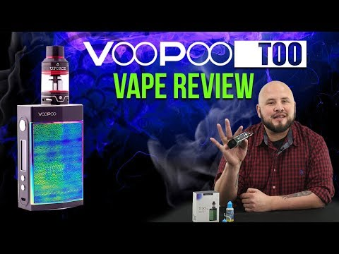 VOOPOO TOO Box Mod + Vape Review (How to Vape) | Product Spotlight