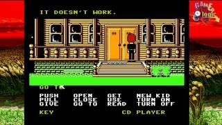 Retro USB AVS System Test - Maniac Mansion (Just Beat It Live!)
